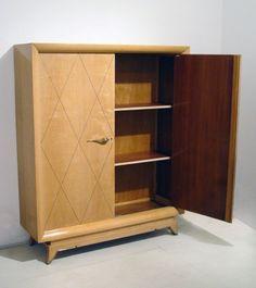 Cabinet Art Deco, Scandinavian Furniture, Cabinet Furniture, Tall Cabinet Storage, Design, Home Decor, Cupboard, Decoration Home, Wall Entertainment Center