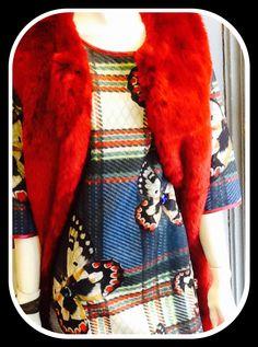 Gilet lungo eco pelliccia e abito Enjoy  Disponibili in negozio