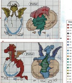 Image result for Free Dragon Cross Stitch Patterns