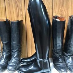 Tall Leather Boots, Tall Boots, Shoe Boots, Men's Boots, Men's Equestrian, Logger Boots, Mens Attire, Superman, Riding Boots
