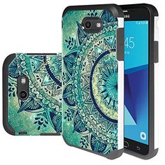 Galaxy J7 V Case, Galaxy J7 Perx Case, Linkertech [Shock Absorption] Heavy Duty Defender Dual Layer Protector Hybrid Case Cover For Samsung Galaxy J7 2017 / Galaxy J7 Sky Pro / Galaxy HALO  https://topcellulardeals.com/product/galaxy-j7-v-case-galaxy-j7-perx-case-linkertech-shock-absorption-heavy-duty-defender-dual-layer-protector-hybrid-case-cover-for-samsung-galaxy-j7-2017-galaxy-j7-sky-pro-galaxy-halo/  Perfect Design for Samsung Galaxy J7 V 2017 / J7 Perx / J7 Sky Pro / G