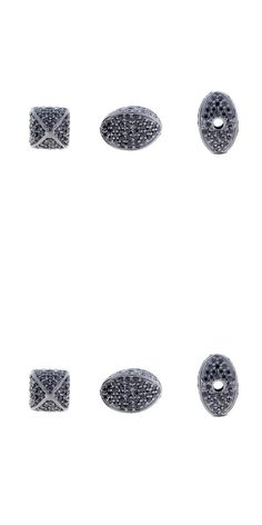 Spacers 67713: 11X8 Mm Oval Bead Black Spinel Findings Sterling Silver Spacer Jewelry 5 Pcs Lot -> BUY IT NOW ONLY: $160.0 on eBay!