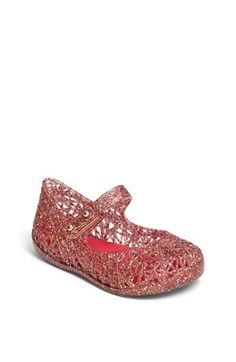 Mini Melissa 'Campana' Mary Jane (Walker & Toddler) available at #Nordstrom