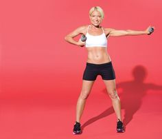 I (Necia) did this arm workout routine several years ago, and holy crap did it tone my arms!  So glad I found it again!