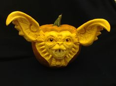 Spike is a 3D Pumpkin Carving by Theressa Wright