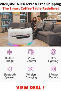 2020 the Smart Coffee Table Redefined Bus House, The Home Edit, Cool Tables, Car Rear View Mirror, Cool Inventions, Cool Furniture, Furniture Ideas, Home Reno, Basement Remodeling
