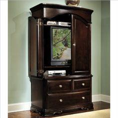Homelegance Grandover Dark Cherry TV Armoire - List price: $1,600.00 Price: $1,446.99 Saving: $153.01 (10%)