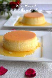 crème caramel au lait concentré sucré - Amour de cuisine