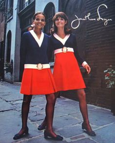 1968 Jolie Jones Kathy McKay for Jonathan Logan 60s And 70s Fashion f8fe81d114