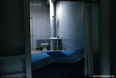 Le Corbusier - Great Buildings Image - Villa Savoye  Bath