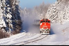 Net Photo: CN 5337 Canadian National Railway EMD at Culver, Minnesota by Shawn Christie Location Map, Photo Location, Canadian National Railway, Winter Storm, Minnesota, Scenery, Outdoor, Train, Outdoors