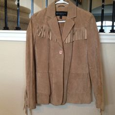 Kenneth Cole Suede Blazer/Jacket Fantastic jacket! Fitted and fun- so soft!! Worn once!!! Kenneth Cole Jackets & Coats Blazers