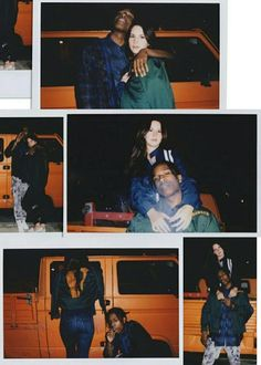 ASAP Rocky posted these photos on his Instagram of himself and Lana Del Rey! ♡ #LDR