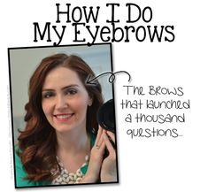 How I Groom my Eyebrows and Keep them from being unruly