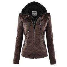 8facbe0d0a8 Jacket Coat Women 2018 Winter Autumn Slim Zipper Hooded Coat Female Warm  Casual Outerwear Solid 2xl Fall Jacket Coats - Online Retail Coupons