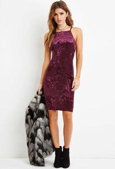 Velveteen Midi Dress | Forever 21 #letscelebrate