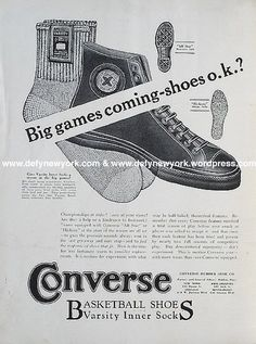 8765f3098c9d19 The Converse All-Star Was First Introduced in 1917 - 50 Things You Didn t  Know About Converse Chuck Taylor All Stars