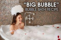Big Bubble Bubble Bath Recipe - @saffireblue