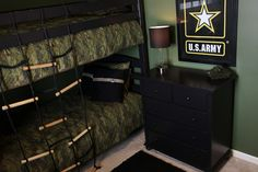Army Themed Room | Demorest Designs