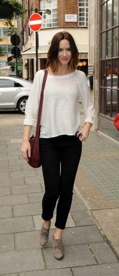 Emily Blunt in Joe's Jeans