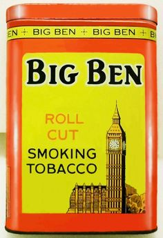 Pocket Tobacco Tin - Big Ben