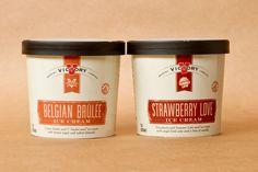 Victory Ice Cream Pot