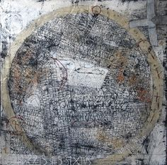 Story of the world Gemengde - techniek op doek - 100 x 100 cm - 2008