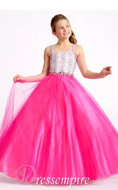 Cheap girls pageant dresses, Buy Quality little girl pageant dresses directly from China pageant dresses Suppliers: Hot Pink Beading Kids Party Ball Gowns Custom Made Sequins Floor Length Little Girls Pageant Dresses Pagent Dresses For Girls, Wedding Party Dresses, Flower Girl Dresses, Dresses 2013, Ball Dresses, Prom Dresses, Princess Ball Gowns, Mode Shop, Beaded Prom Dress