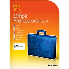 13. Microsoft Office Professional 2010 Traditional Disc - THE ULTIMATE Back-To-School MUST HAVE!!! :) #momselect and #backtoschool