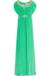 ALICE by Temperley  Long Alma embellished silk dress