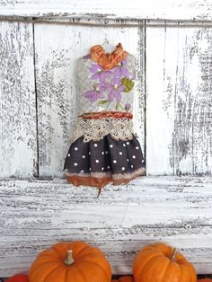 Blythe doll outfit OOAK  *Halloween party* Grungy-chic outfit Autumn collection