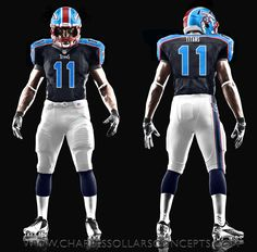 69 Andy Gallik Tennessee Titans nike