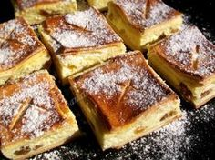 yummy for my tummy Romanian Desserts, Romanian Food, My Favorite Food, Favorite Recipes, Cheese Pastry, Good Food, Yummy Food, Pastry And Bakery, Foods To Eat