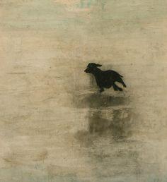 Hond, Krin Rinsema - Gemengde techniek – Kunst.nl