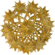 . Weaving Designs, Weaving Art, Handmade Ornaments, Handicraft, Ideas Para, Grass, Snow, Ceiling Lights, Decorations
