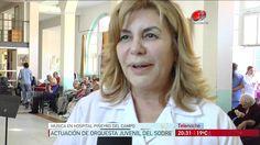 Musica en el Hospital para ancianos Piñeyro del Campo.