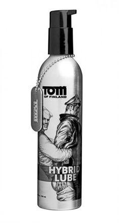 TOM OF FIN. HYBRID LUBE 8 OZ.  #TomOfFinland