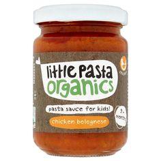 Ocado: Little Pasta Organics Chicken Bolognese Pasta (Product Information)