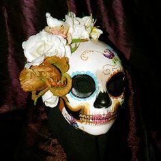 Dia de los Muertos mask- bridal