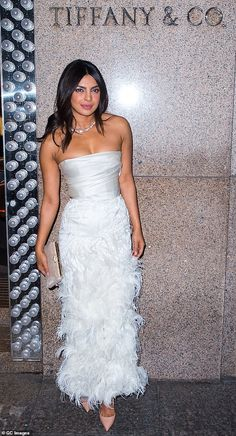 Priyanka Chopra Gives Wedding Preview In Frilly Bridal White Dress