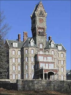 Worcester State Hospital - Worcester, Massachusetts.