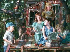 *Childhood in Pictures - Bob Byerly http://www.byerleyart.com/