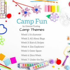 ☀️Summer vacation is fast approaching. Starting next week we're kicking off 7 weeks of fun-filled ideas for you and your kids to do together at home. Haeley with @designimprovised has crafted up a fun filled summer.  Follow along each week to see what's cooking. Click the link to see all the supplies you'll need to follow along! #summercamp #summerfun #summercraft #summerideas #Campfun #orientaltrading