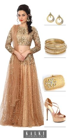 Gold and silver don't go together… Says who? Wearing the glamorous gold and striking silver and own the beauty of both. You may rock the starry nights with marvelous sequin metallic and embellishments of gold and silver.