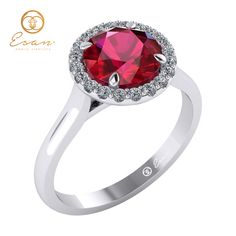 Inel de logodna din aur cu rubin si diamante ES151 Aur, Ruby Jewelry, Heart Ring, Engagement Rings, Enagement Rings, Wedding Rings, Heart Rings, Pave Engagement Rings, Diamond Engagement Rings