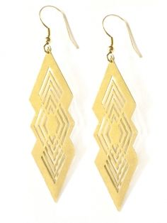 5b1a500d4 Unique Jewelry | Mata Traders: Ethical Fashion Fair Trade Jewelry, Gold  Earrings, Drop
