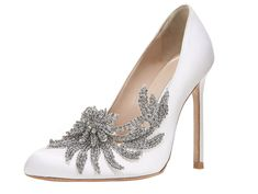 Say 'I Do' in these Elegant, Show-Stopping Bridal Shoes