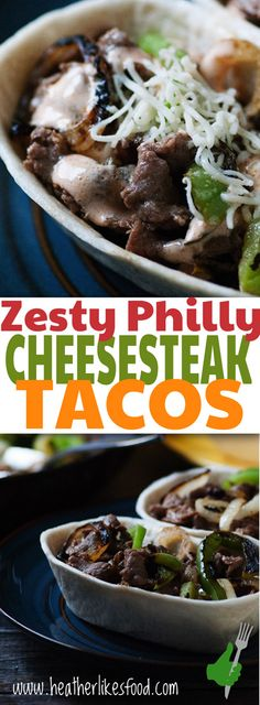 All the flavors of a philly steak and cheese kicked up a notch with green chilies and an enchilada cream sauce. Wrap it up in a tortilla and you have an awesome dinner ready to go on the table in under 30 minutes! #oldelpaso  #albertsons