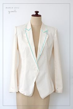 Pattern Runway: Goal 1 - Sew a Tailored Jacket Update