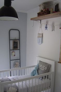 Adorable nursery. neutral bedding/nursery for girl or boy
